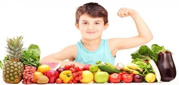 عبارات إرشادية عن الغذاء الصحي