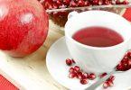 فوائد شاي الرمان الساخن