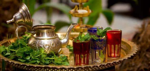 كيفية تحضير شاي المغربي