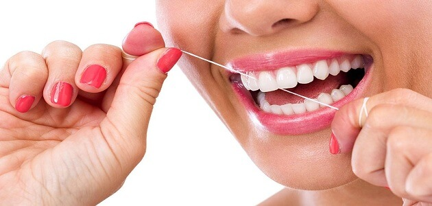 كيفية تنظيف الاسنان