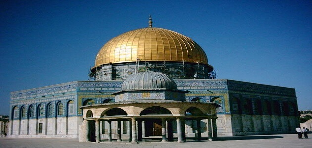 موضوع تعبير عن المسجد الأقصى بالعناصر