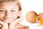فوائد بياض البيض للهالات السوداء في الوجه