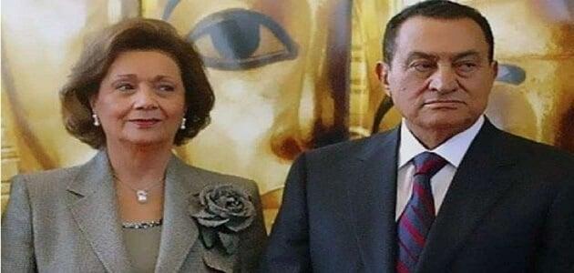 سوزان مبارك مسيحية أم مسلمة