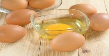 ما فوائد البيض لعلاج الحروق