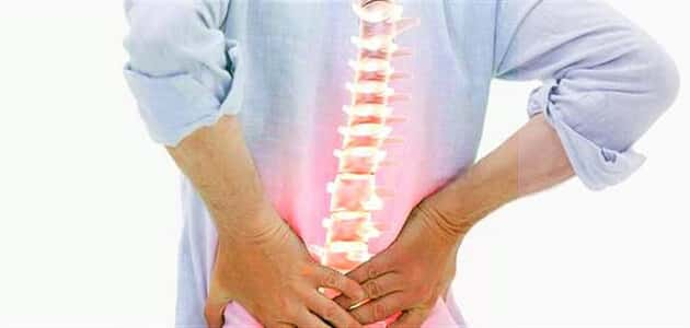 What is the cause of lower back pain?