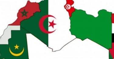 أين يقع المغرب العربي