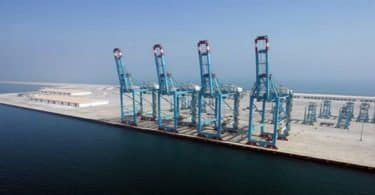 أين يقع ميناء سلمان في البحرين