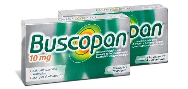 بوسكوبان Buscopan دواعي الاستعمال، الجرعة والموانع