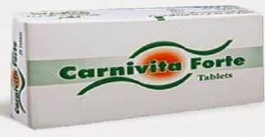 دواء كارنيفيتا فورت Carnivita دواعي الاستعمال، الجرعة والموانع