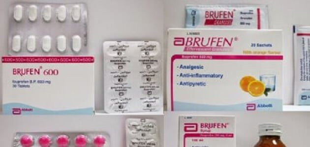 Indications of Brufen 600, 400 syrup and tablets