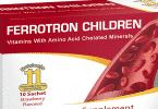 دواعي استعمال كبسول فيروترون Ferrotron مكمل غذائي
