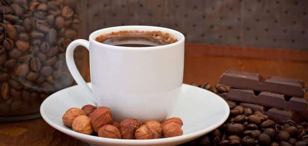 How French coffee works with hazelnut and milk