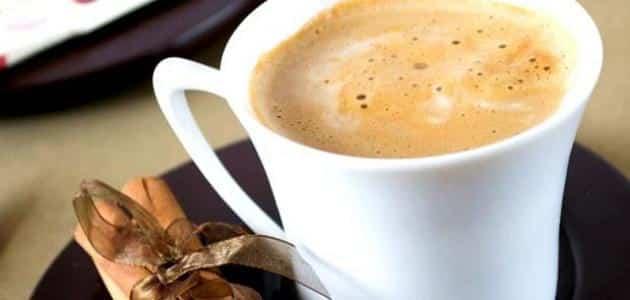 طريقة عمل قهوة اللوز بالصور