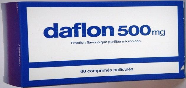 فوائد وأضرار دافلون 500 Daflon والآثار الجانبية