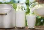 ما مكونات الحليب