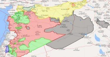 ما هي حدود سوريا الطبيعية