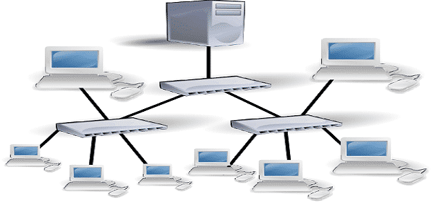 ما هي مكونات شبكات الحاسب ؟