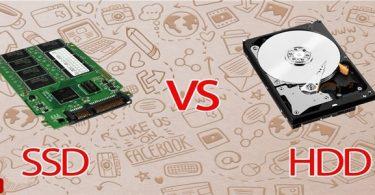 الفرق بين أقراص HDD و SSD بالتفصيل