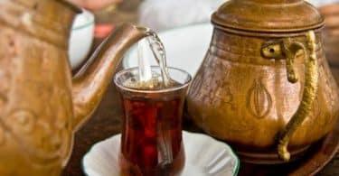 طريقة إعداد شاي تركي