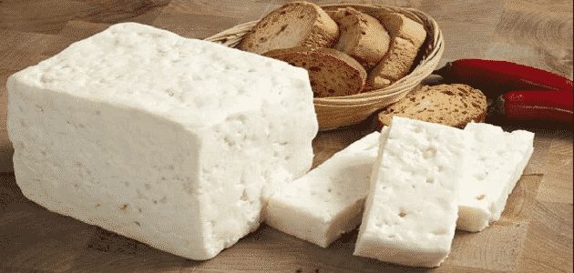 method of boiling white municipal cheese