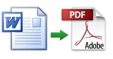 كيفية تحويل ملف وورد الى pdf بدون برامج