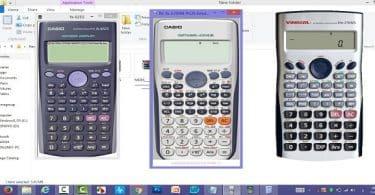 استخدام آلة حاسبة للكمبيوتر