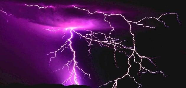 دعاء المطر والرعد والبرق مكتوب معلومة ثقافية