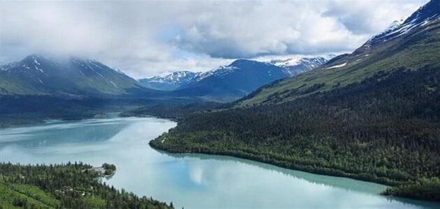 أين تقع مدينة ألاسكا