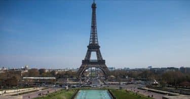 أين تقع مدينة باريس في فرنسا
