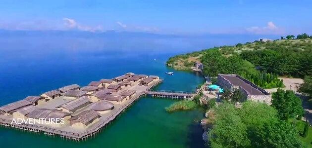 اين تقع جزيرة مقدونيا
