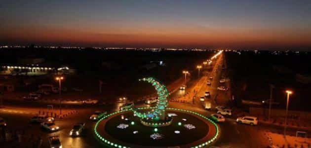 اين تقع مدينة طبرجل بالسعودية