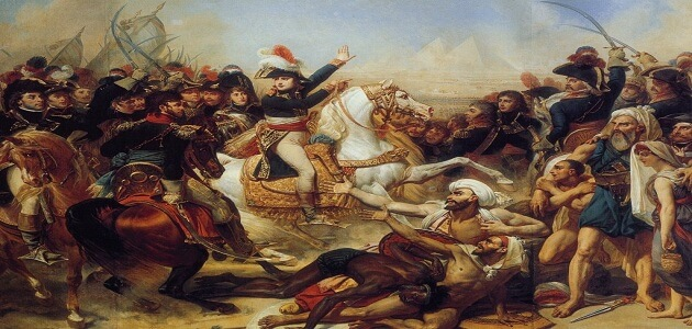 بحث عن الحملة الفرنسية على مصر