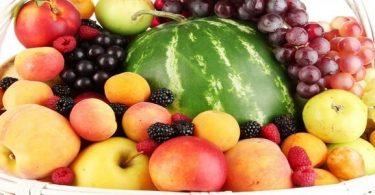جميع أنواع الفاكهة الصيفية