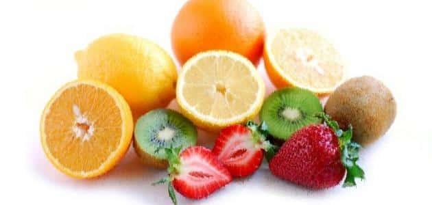 فاكهة تحتوي على فيتامين ج