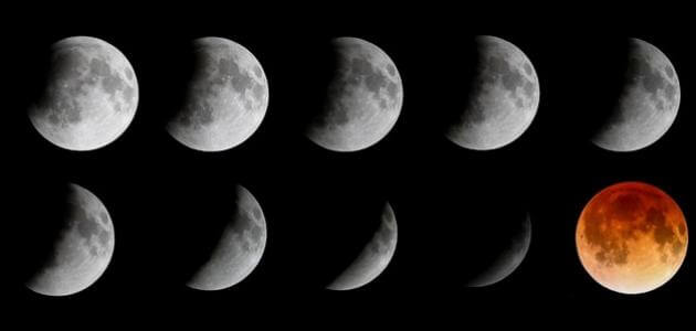 معلومات عن خسوف القمر