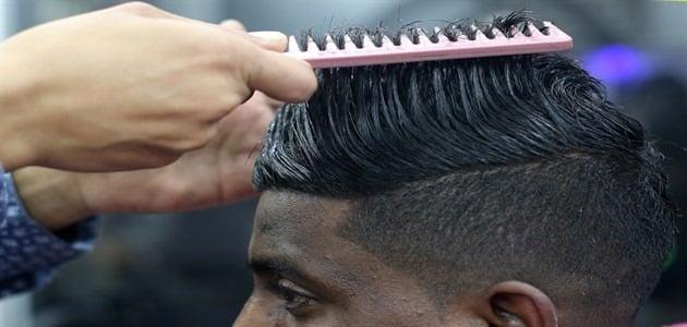 طريقة فرد الشعر بالبروتين والكيراتين