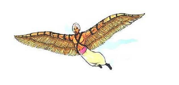 عباس بن فرناس ومحاولة الطيران