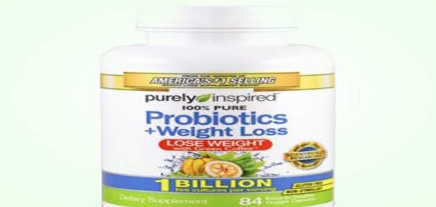 كبسولات بروبيوتيك للتنحيف وتخفيف الوزن