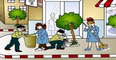 إذاعة مدرسية عن النظافة العامة