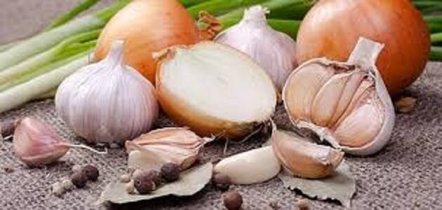 فوائد الثوم والبصل للجسم