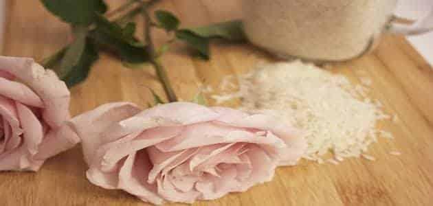 فوائد ماسك الأرز المطحون للوجه