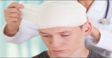 من أنواع إصابات الرأس