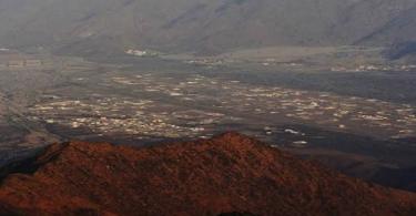 أين يوجد وادي نعمان في السعودية