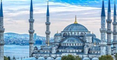 اين يقع المسجد الازرق في اسطنبول