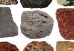 بحث عن الصخور الفضائية وأنواعها pdf