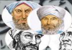 بحث عن المذاهب القديمة والمعاصرة
