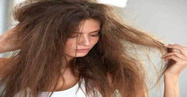 علاج الشعر التالف والمتقصف من الصبغات