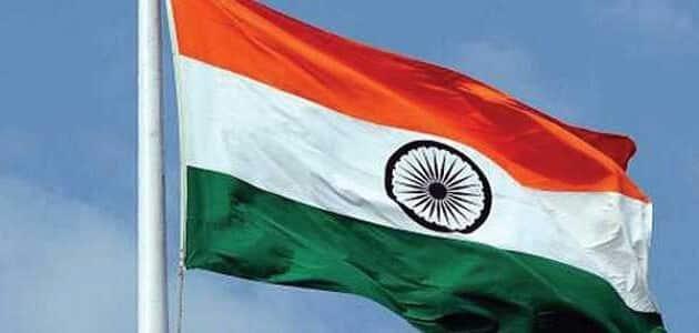 ماذا يرمز علم الهند