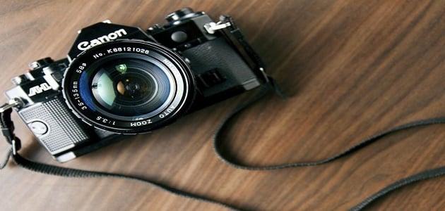 معنى كلمة كاميرا في اللغة العربية