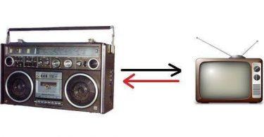 مقارنة بين التلفاز والمذياع مختصرة